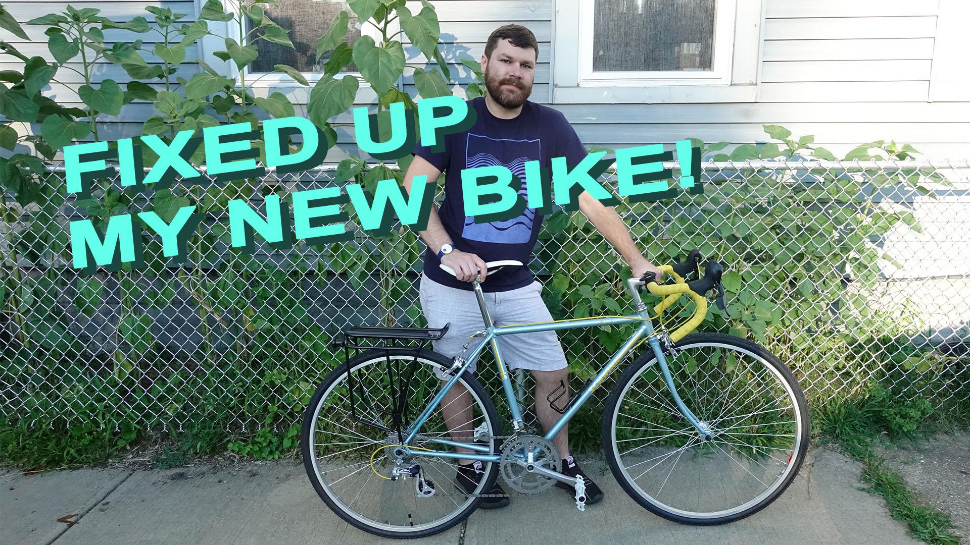 Bike Repair | Fixing up a 1985 Schwinn World Sport | Gravel Cargo City Bicycle